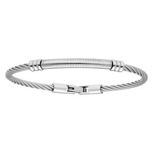 Bracelet en acier câble double effet - Vue 1