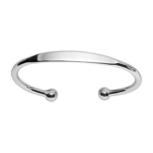 Bracelet jonc en argent esclave - petit modèle - Vue 1