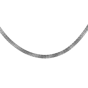 Chaîne en acier maille serpent souples longueur 51cm - Vue 1