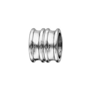 Charms Thabora en acier forme double anneau