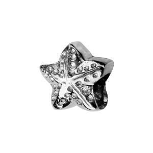 Charms Thabora en argent rhodié étoile de mer ouvragée - Vue 1