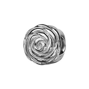 Charms Thabora en argent rhodié fleur de rose