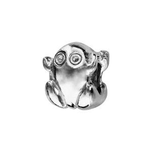 Charms Thabora en argent rhodié grenouille - Vue 1