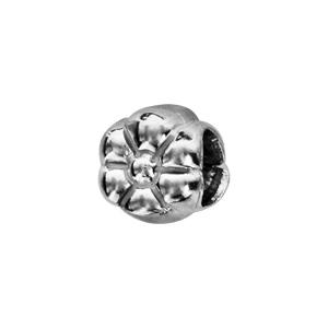 Charms Thabora en argent rhodié marguerite - Vue 1