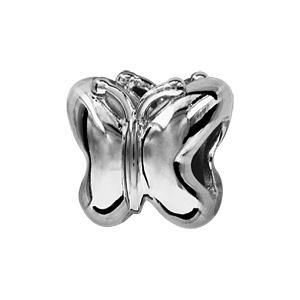 Charms Thabora en argent rhodié papillon - Vue 1