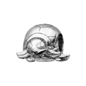 Charms Thabora en argent rhodié tortue - Vue 1