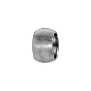 Charms Thabora grand modèle pour homme en acier anneau bombé lisse satiné - Vue 1