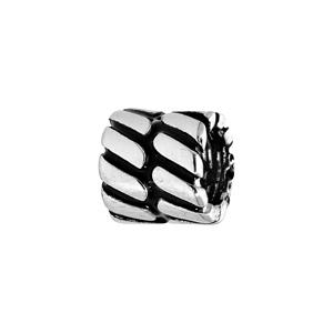 Charms Thabora médium en acier motifs géométriques - Vue 1