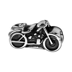 Charms Thabora pour homme en acier moto patinée - Vue 1