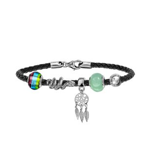 Composition bracelet charms Thabora teen rebel - Vue 1