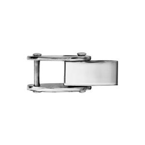 Fermoir rallonge en acier pour bracelet réversible - largeur 4,7mm - Vue 1