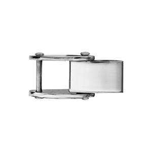 Fermoir rallonge en acier pour bracelet réversible - largeur 5,7mm - Vue 1