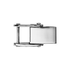 Fermoir rallonge en acier pour bracelet réversible - largeur 6,7mm - Vue 1