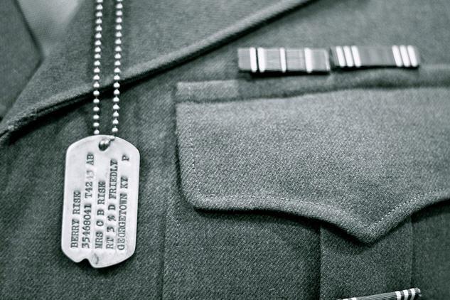 Plaque militaire américaine