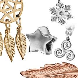 Charms Argent Objets