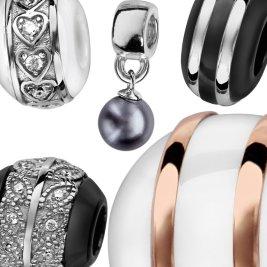 Charms Argent Perles & Céramique