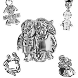 Charms Argent Personnages