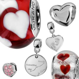 Charms Argent Tendresse