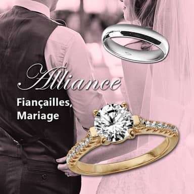 Les alliances de mariage