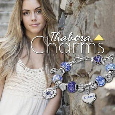 Charms Argent Thabora