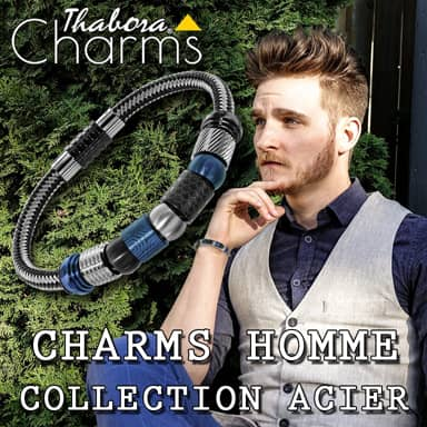 Thabora Charms Homme - 1001 Bijoux