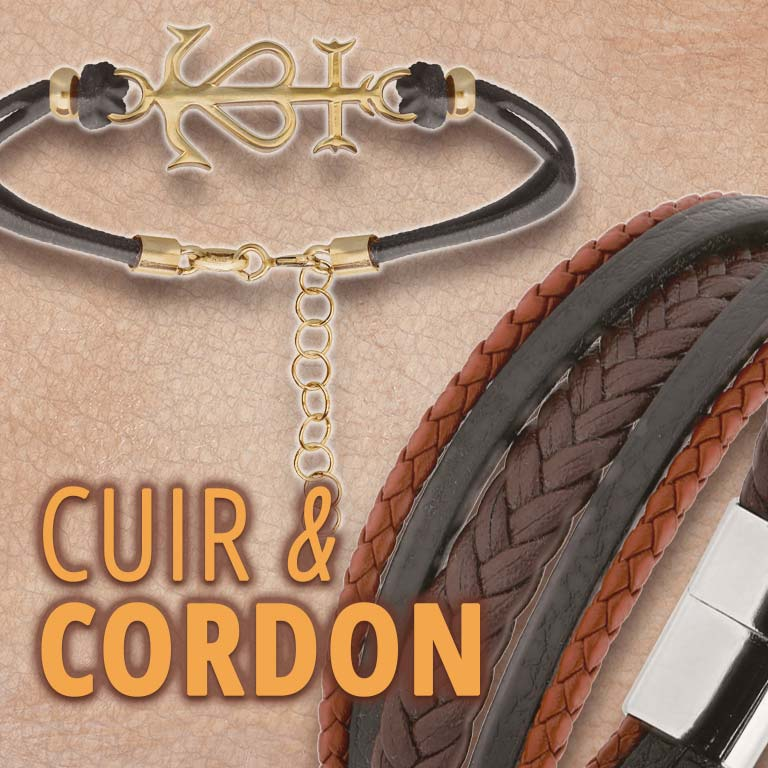 Collection bijoux cuir
