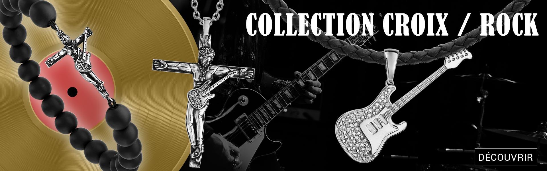 Collection Bijoux Rock Croix et Biker