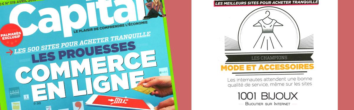 1001Bijoux parmi les 500 meilleurs sites français !