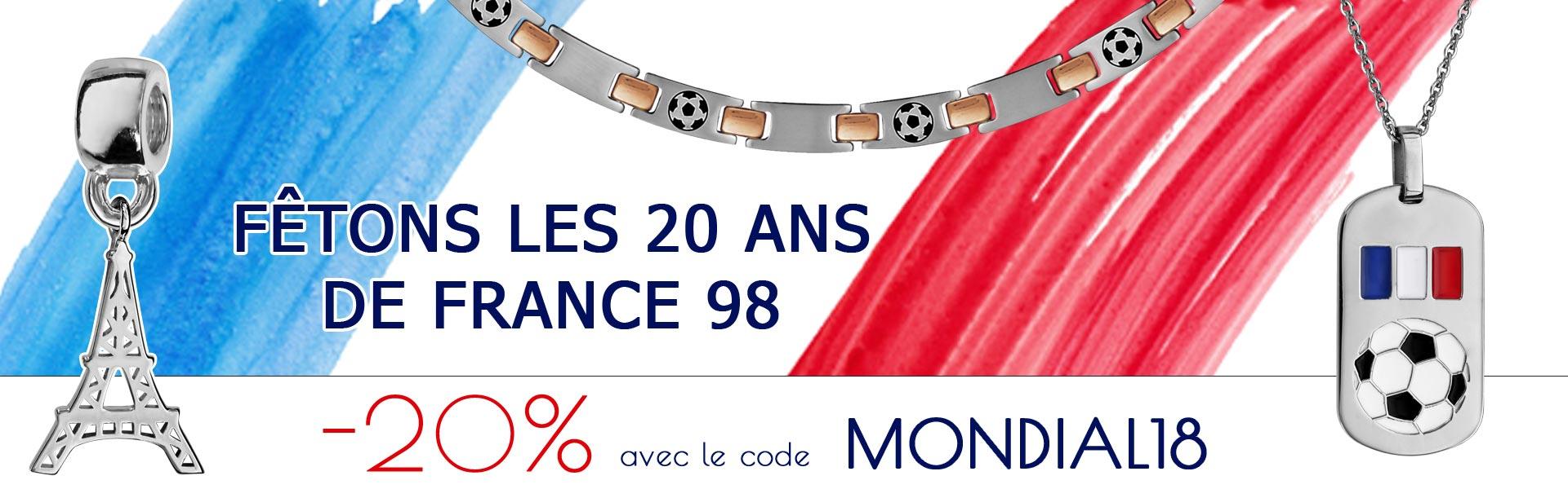 -20% sur votre commande pour la coupe du monde