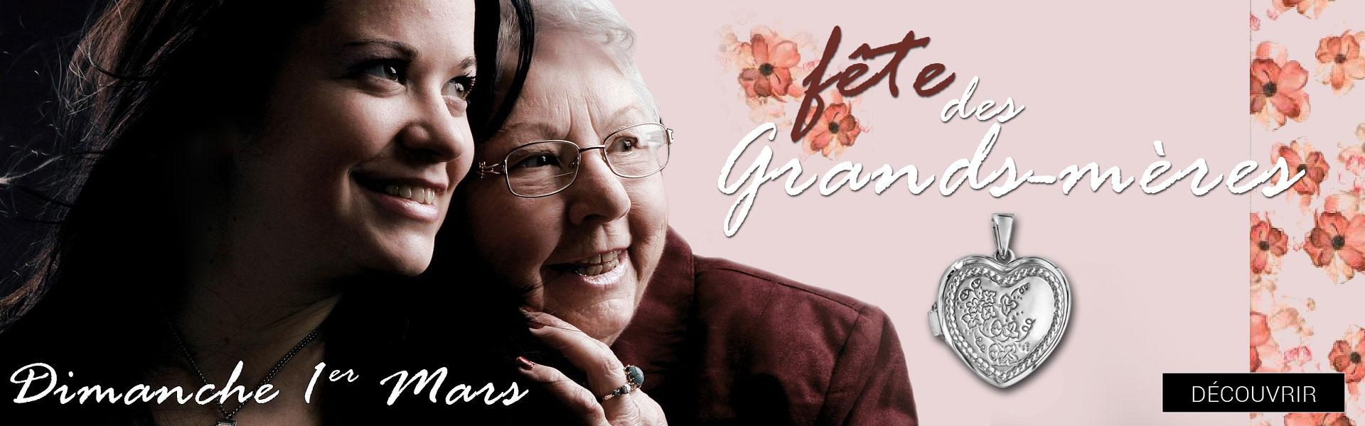 Dimanche 1er mars 2020, c\'est la fête des Grands-Mères