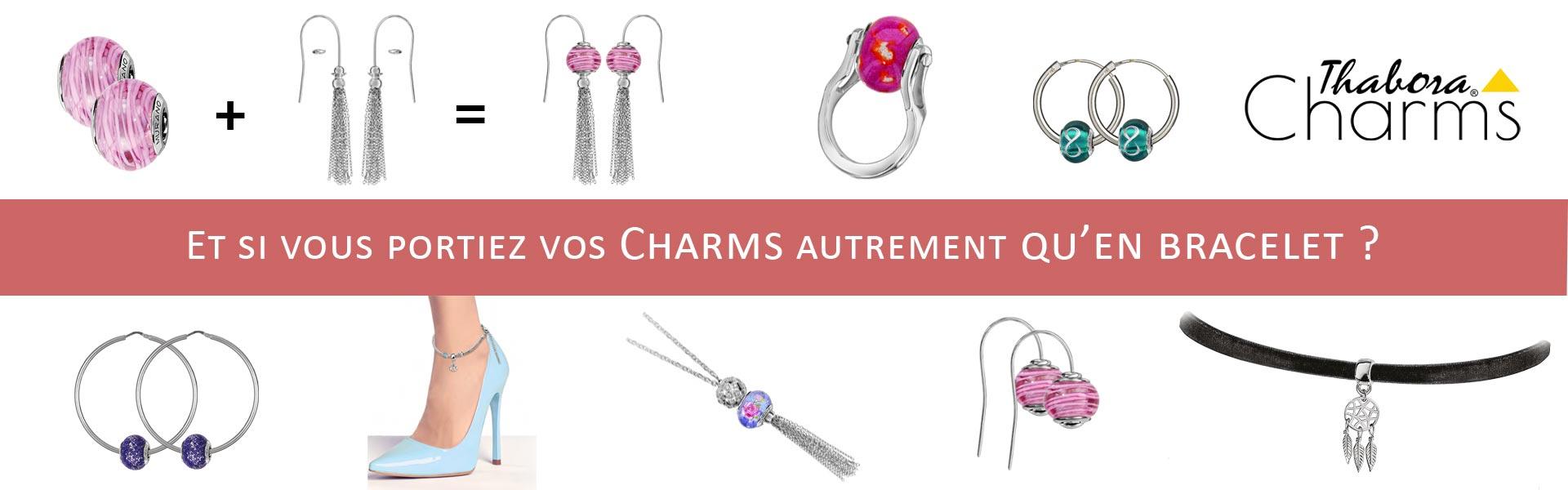 bijoux Thabora Charms