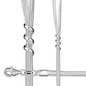 Parure multi-chaînes - Vue 2