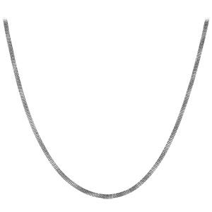 Chaîne en acier maille serpent souples longueur 51cm - Vue 2