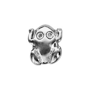 Charms Thabora en argent rhodié grenouille - Vue 2