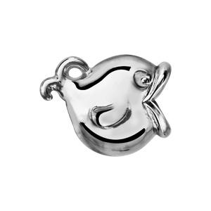 Charms Thabora en argent rhodié baleine - Vue 2