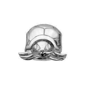 Charms Thabora en argent rhodié tortue - Vue 2