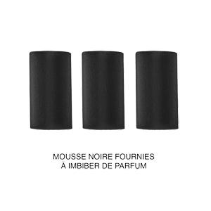 Collier avec Pendentif diffuseur de parfum tube motifs arabesques 50+5cm - Vue 3