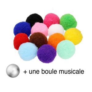Collier Bola diffuseur de parfum boule à motifs- réglable 60 à 100cm - Vue 3