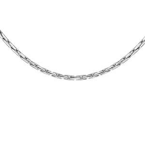 1001 Bijoux - Collier argent rhodié petite paloma 42cm pas cher
