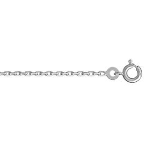 1001 Bijoux - Chaine forçat argent 2mm 50cm pas cher