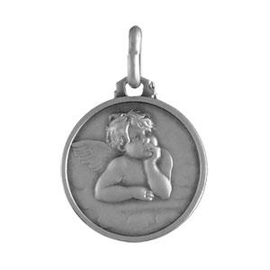 Médaille Argent ange 16mm