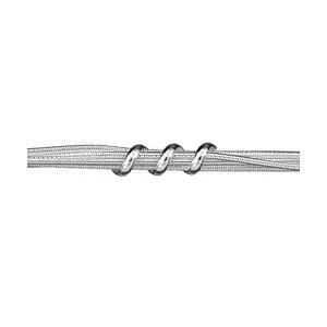 1001 Bijoux - Bracelet multi chaines argent pas cher