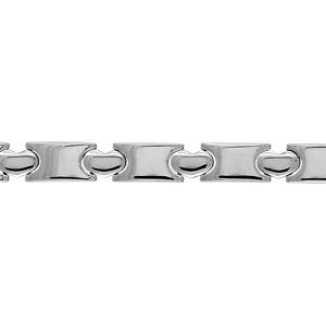 Bracelet Acier coeur 20cm