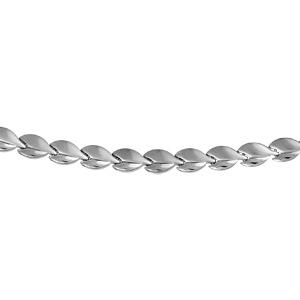 1001 Bijoux - Collier acier fantaisie 45cm pas cher