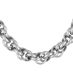 1001 Bijoux - Collier acier corde 45cm pas cher
