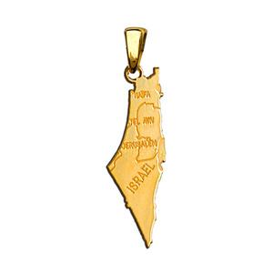 1001 Bijoux - Pendentif Israel plaqué or pas cher